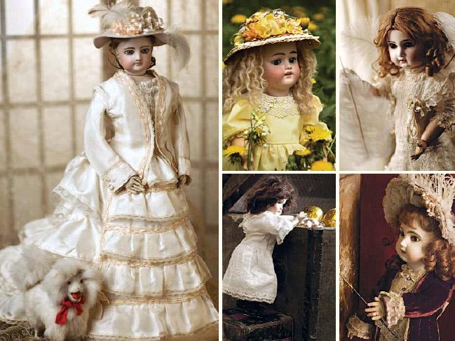 антикварные куклы фото