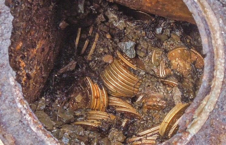 В калининградской области найден клад древнеримских монет.