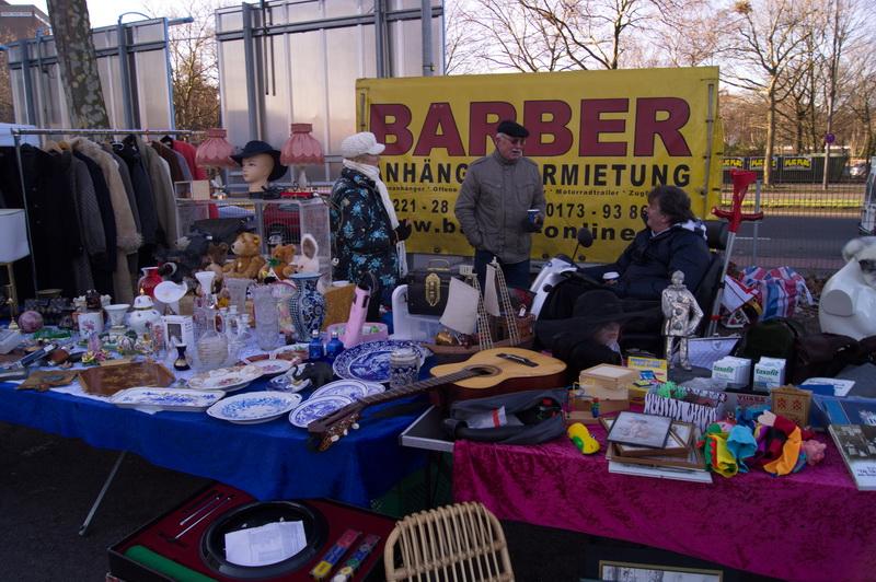 Блошиный рынок в Кельне